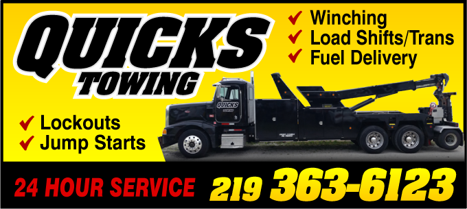 Quciks Towing Card